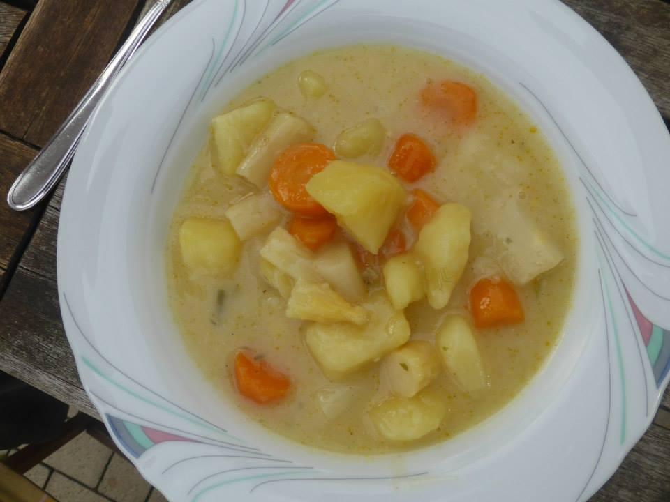 Gemüse-Spargel Eintopf