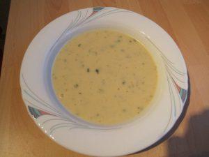 Kartoffelknoblauchsuppe