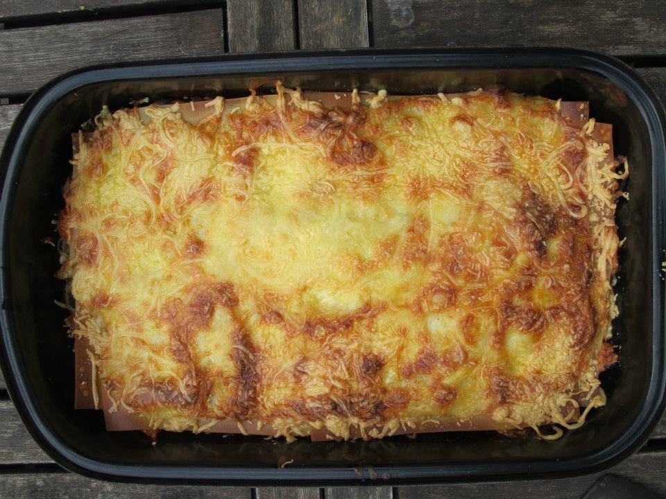 Spitzkohl-Lasagne