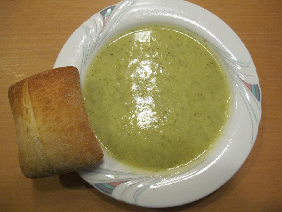 Zucchini-Cremsuppe