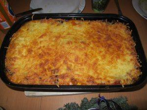 mexikanische Enchilada-Lasagne