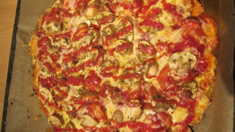Bolivianische Pizza