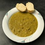 Kichererbsen Linsen Suppe mit Hackfleisch