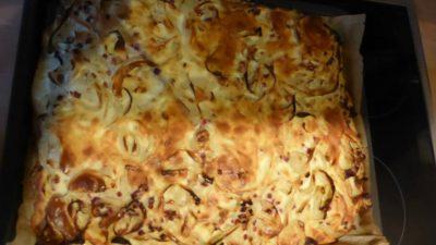 Rheinischer Zwiebelkuchen - Rezeptfamilie - Kochen und Backen - Rezepte von unserer Familie für Familien mit Kindern