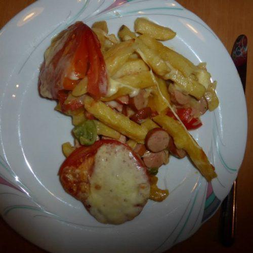 Pommes Auflauf - Pommes mal anders in einem Auflauf - Kochen udn Backen mit der Rezeptfamilie
