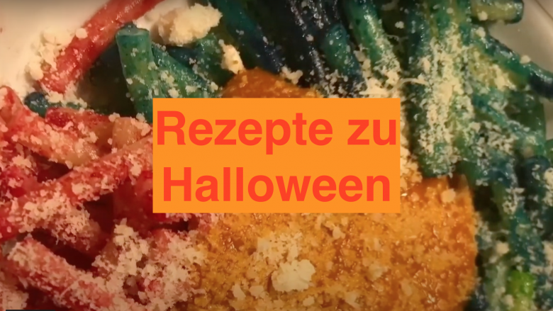 Rezepte zu Halloween - Kochen und Backen mit der Rezeptfamilie