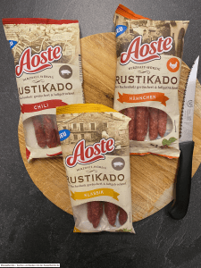 #mytestaosterustikado - Aoste Rustikado Salami-Snacks - Rezeptfamilie von familyeller