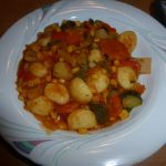 Gemüsetopf mit Gnocchi