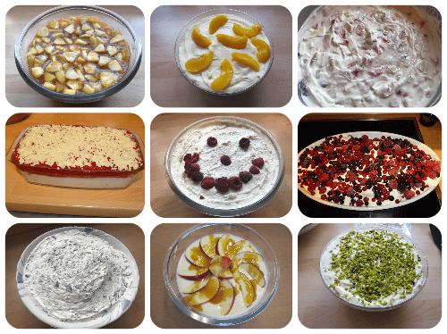 Desserts - Nachspeisen - Rezeptfamilie
