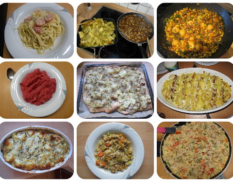 Hauptgerichte - Rezeptfamilie