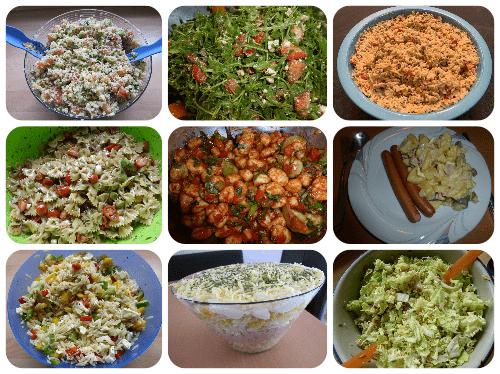 Salate - Rezeptfamilie
