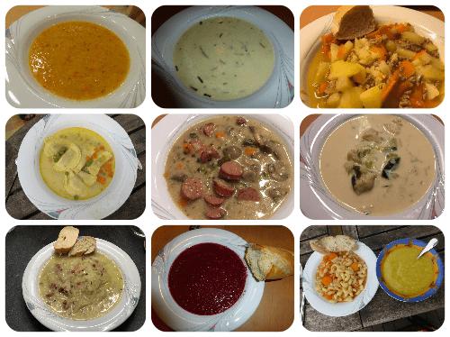 Suppen - Rezeptfamilie