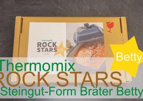 Thermomix Rock Stars - Steingut-Form Bräter Betty - Rezeptfamilie