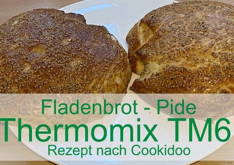 Fladenbrot - Pide mit dem Thermomix TM6 - Rezept nach Cookidoo