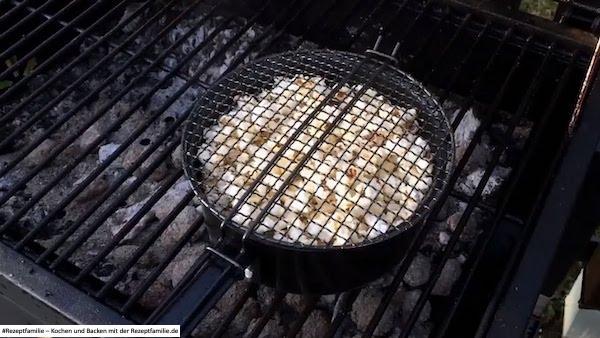 Popcorn - so gelingt es auf dem Grill - BBQ - Rezeptfamilie