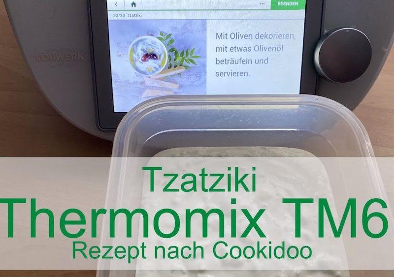 Tzatziki mit dem Thermomix TM6 - Rezept nach Cookidoo - Rezeptfamilie