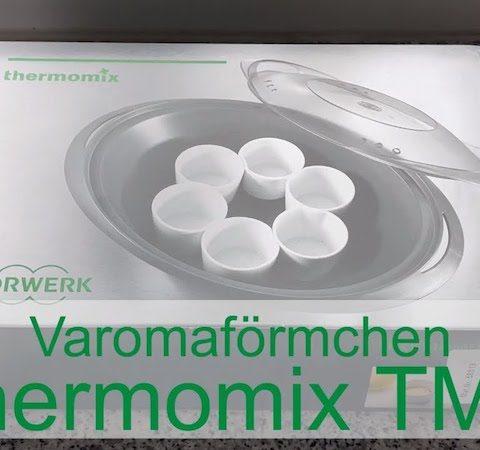 Zubehör Varomaförmchen für den Varoma des Thermomix TM6 - Rezeptfamilie