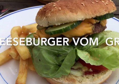 Cheeseburger vom Grill - #Rezeptfamilie