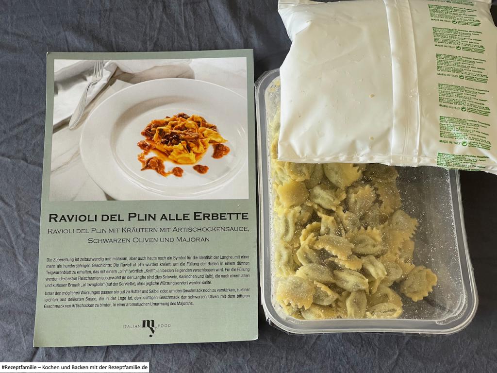 ItalianMyFood - Foodbox Leckeres Gemüse - Wir haben getestet - #Rezeptfamilie #Videoleben