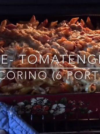 Penne- Tomatengratin mit Pecorino - #Rezeptfamilie